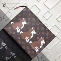 LV-M47542-7 原單柴犬系列16號盥洗袋大號Monogram帆布化妝盒