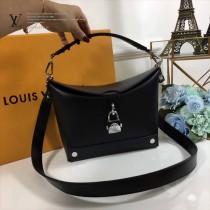 LV-M56039 2018早春系列時髦黑色Epi皮革時尚潮流BENTO BOX手袋