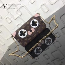 LV-M61276-6最新款原版皮愛情狗優雅小巧POCHETTE FELICIE 手袋