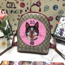 GUCCI 495621 專櫃新品刺繡小狗圖案休閒雙肩包書包