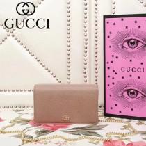 GUCCI 499782-4 古馳早春系列標誌性古銅鏈條小包