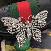 GUCCI 505388-1 古馳新款GucciTotem系列時尚皮革單肩斜挎包