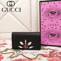 GUCCI 499782-5 古馳早春系列標誌性古銅鏈條小包