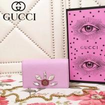 GUCCI 499782-6 古馳早春系列標誌性古銅鏈條小包