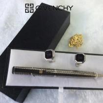 GIVENCHY 袖釦-01 紀梵希男士商務袖釦   送原裝盒