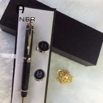 Aigner 袖釦-02 艾格纳男士商務袖釦   送原裝盒