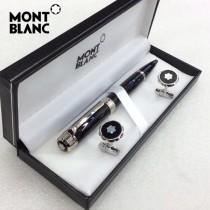 MONTBLANC袖釦-019 萬寶龍男士商務袖釦另送原裝盒