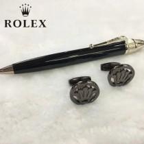 ROLEX 袖釦-02 勞力士男士商務袖釦   送原裝盒