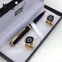 MONTBLANC袖釦-022 萬寶龍男士商務袖釦另送原裝盒