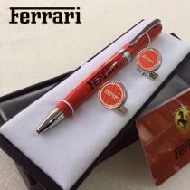 FERRARI 袖釦-05 法拉利男士商務袖釦   送原裝盒
