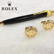 ROLEX 袖釦-01 勞力士男士商務袖釦   送原裝盒
