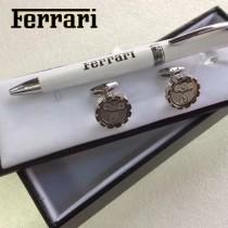 FERRARI 袖釦-02 法拉利男士商務袖釦   送原裝盒