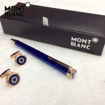 MONTBLANC袖釦-011 萬寶龍男士商務袖釦另送原裝盒