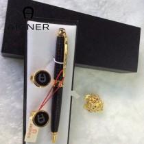 Aigner 袖釦-03 艾格纳男士商務袖釦   送原裝盒