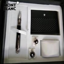 MONTBLANC袖釦-090 萬寶龍男士商務袖釦另送原裝盒