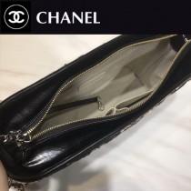 CHANEL 01140-2 凹造型必備Gabrielle原單軟呢面料搭配小牛皮大號流浪包