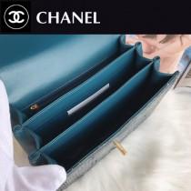 CHANEL  8033-02 香奈兒原版皮搖滾時尚混搭風鏈條大包 可手提肩背
