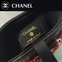 CHANEL 01139 專櫃走秀款原版毛呢面料單肩斜挎手機包可放兩台7P