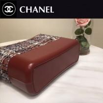 CHANEL 01140 凹造型必備Gabrielle原單軟呢面料搭配小牛皮大號流浪包