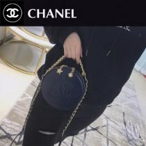 CHANEL 01134-02 香奈兒原版皮時尚新款星月圓盒