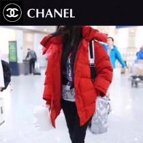 CHANEL 01136-01 香奈兒CoCo太空系列超級軟羽绒包時尚新款百搭肩包手提包