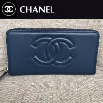 CHANEL 05231-1 香奈兒新款時尚單品多卡槽設計長款錢包 平紋簡潔大方