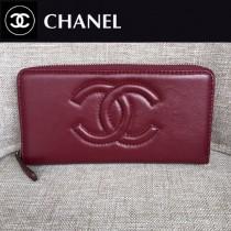 CHANEL 05231-2 香奈兒新款時尚單品多卡槽設計長款錢包 平紋簡潔大方