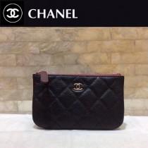 CHANEL 82365 香奈兒新款原單夏季新款進口球紋牛皮和羊皮拉鏈零錢包卡包