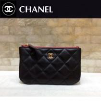 CHANEL 82365-2 香奈兒新款原單夏季新款進口球紋牛皮和羊皮拉鏈零錢包卡包