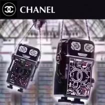 CHANEL 01170 全球限量版原單樹脂材質鑲鑽機器人造型全鋼五金單肩斜挎包