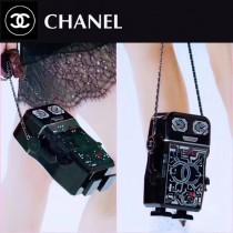 CHANEL 01170-2 全球限量版原單樹脂材質鑲鑽機器人造型全鋼五金單肩斜挎包