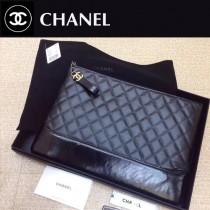 CHANEL 84288 香奈兒新款原Gabrielle系列經典時尚胎牛皮流浪包手包