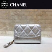 CHANEL 84384-4 香奈兒新款原單時尚經典新品流浪包系列胎牛皮拼色卡包 錢包