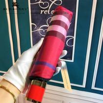 Burberry雨傘-04 巴寶莉最新款原單品質經典格子花邊全自動折疊晴雨傘