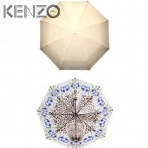 KENZO雨傘-01 高田賢三夏季火爆款全自動數碼印花防紫外線折疊晴雨傘