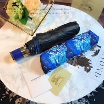 Burberry雨傘-07 巴寶莉新塗層技術深色傘布最新款原單品質全自動折疊晴雨傘