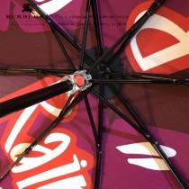 Burberry雨傘-06 巴寶莉新塗層技術深色傘布最新款原單品質全自動折疊晴雨傘