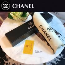 CHANEL雨傘-06 香奈兒亞太專櫃最新款山茶花全自動UV晴雨傘 全黑鋼材質全自動折疊晴雨傘