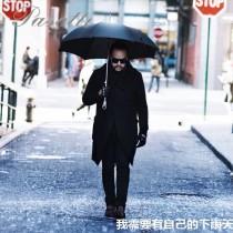 Pasotti-02-2 萌塔匯高貴輕奢原單施華洛世奇水晶把手防曬半自動長柄晴雨傘