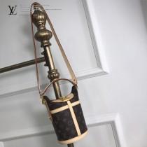 LV-M43587 路易威登新款時尚經典原單DUFFLE手袋春夏系列中備受鐘愛的Duffle手袋可手提 可肩背