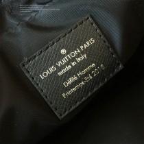 LV-M43826 路易威登新款時尚原單LU春夏秀款男女同款黑色斜挎胸包