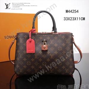 LV-M44254 路易威登新款時尚原版皮Millefeuille手袋經典與現代巧妙融合的典範女包