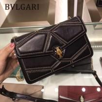 Bvlgari原單-38102 寶格麗原單時尚新款融合了古典與現代特色肩背斜背包