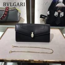 Bvlgari原單-281815-04 寶格麗原單時尚新款外出百搭進口胎牛皮鏈條包