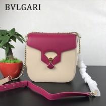"Bvlgari原單-0018-2 寶格麗原單""DIVAS' DREAM""天堂碧玉粒面小牛皮中號翻蓋包"