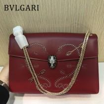 Bvlgari原單-285887-02 寶格麗原單時尚新品愛神之箭系列大號雙層包包