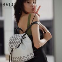 Bvlgari原單-284117-01 寶格麗原單時尚原單新款Serpenti Forever膠囊系列雙肩包