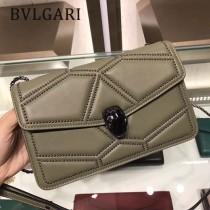 Bvlgari原單-38102-02 寶格麗原單時尚新款融合了古典與現代特色肩背斜背包