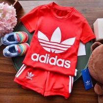 潮客 兒童速幹套裝 男女寶寶穿都是很好看的上衣是網眼速幹面料!!