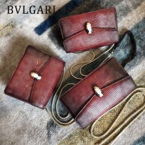 BVLGARI 38102-5 高端奢華SeprentlForever原單意大利蜥蜴紋單肩斜挎包